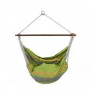 Подвесное кресло двухместное, Зеленое в полоску (0001)