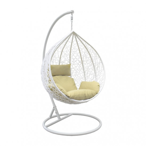 Подвесное кресло LESET Altar White